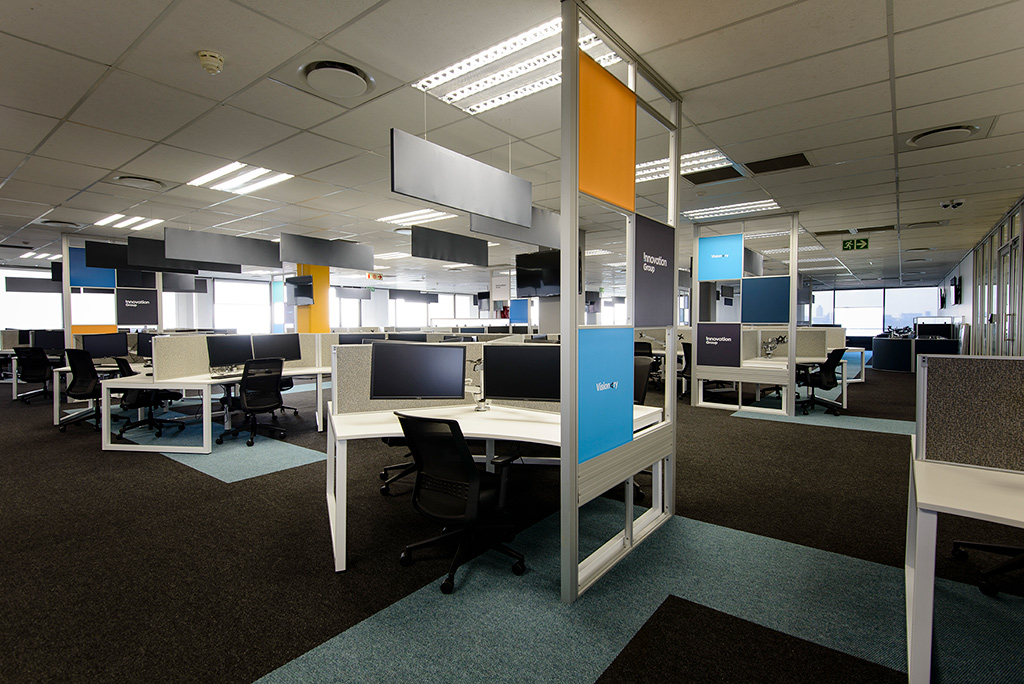 Innovation Group - Turnkey Interiors - Corporate Interior Design and Build