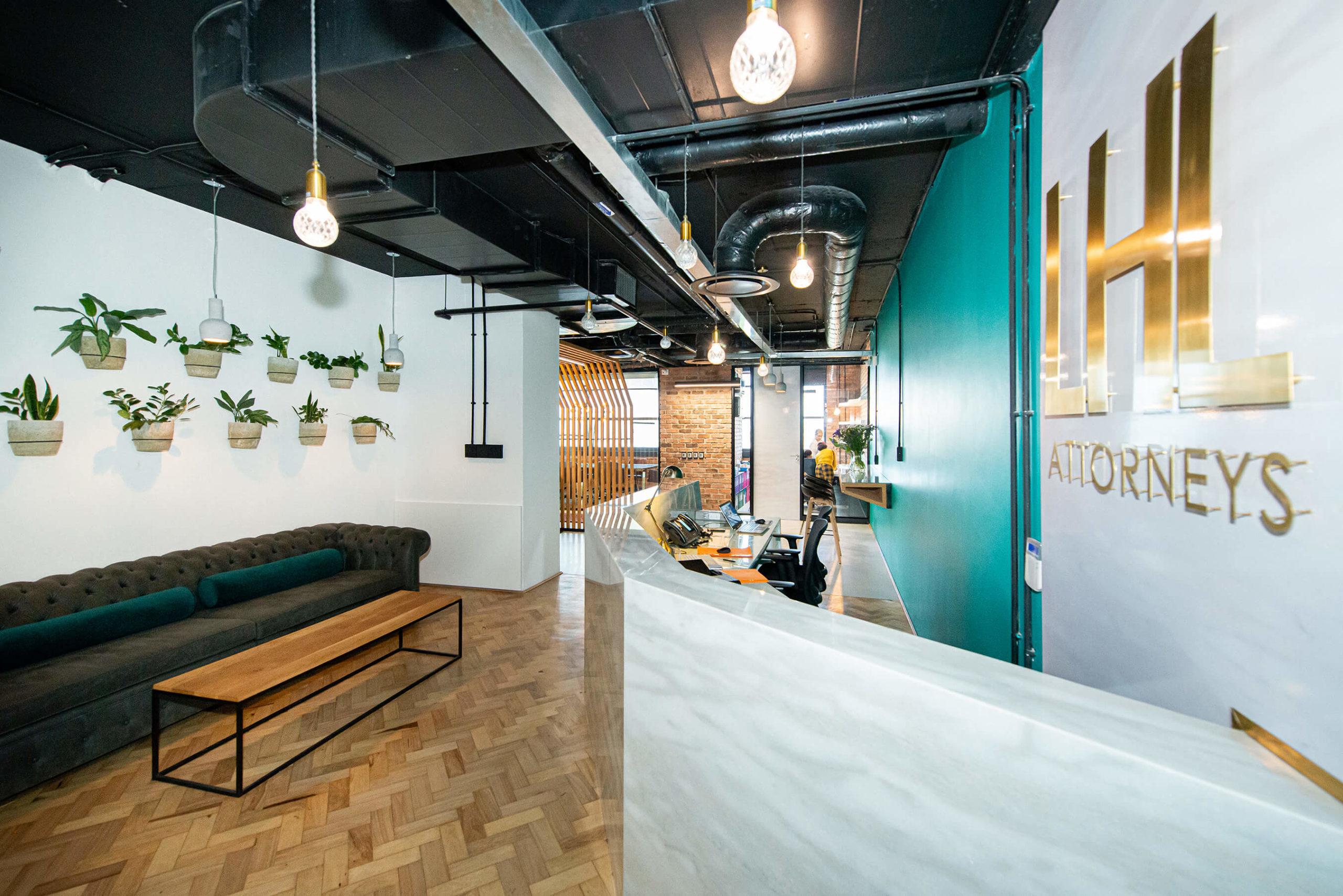 LHL Attorneys - Turnkey Interiors - Corporate Interior Design and Build