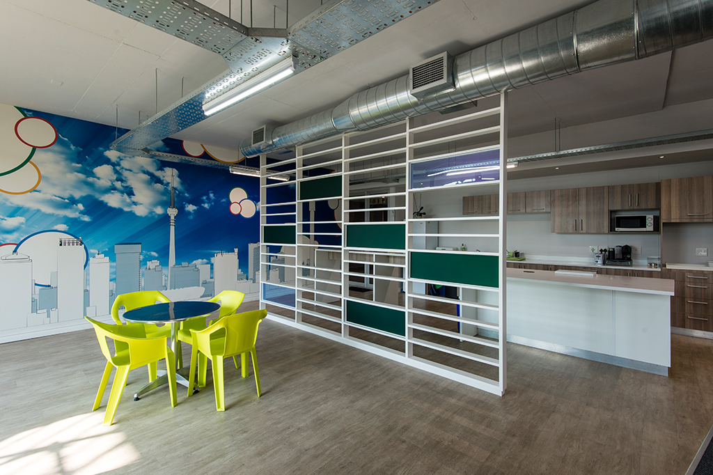Open Networks - Turnkey Interiors - Corporate Interior Design and Build
