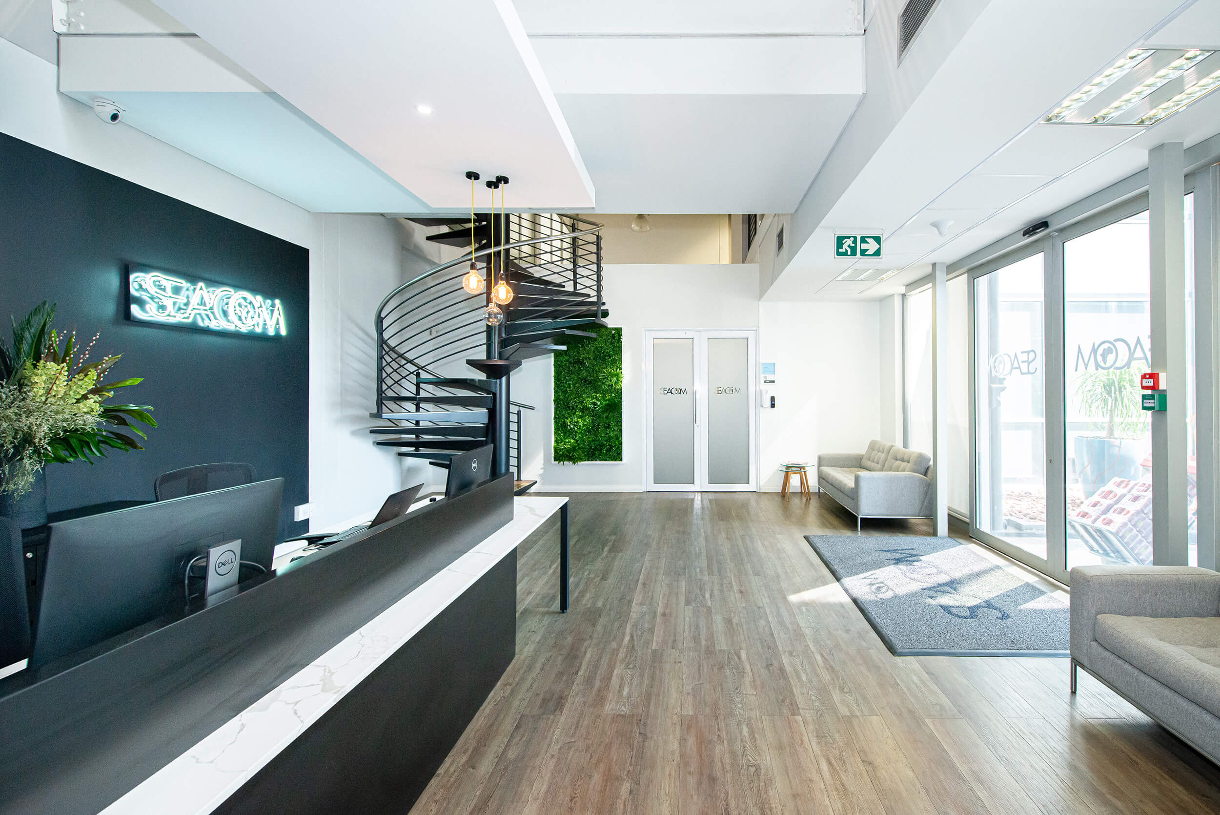 Seacom - Turnkey Interiors - Corporate Interior Design and Build