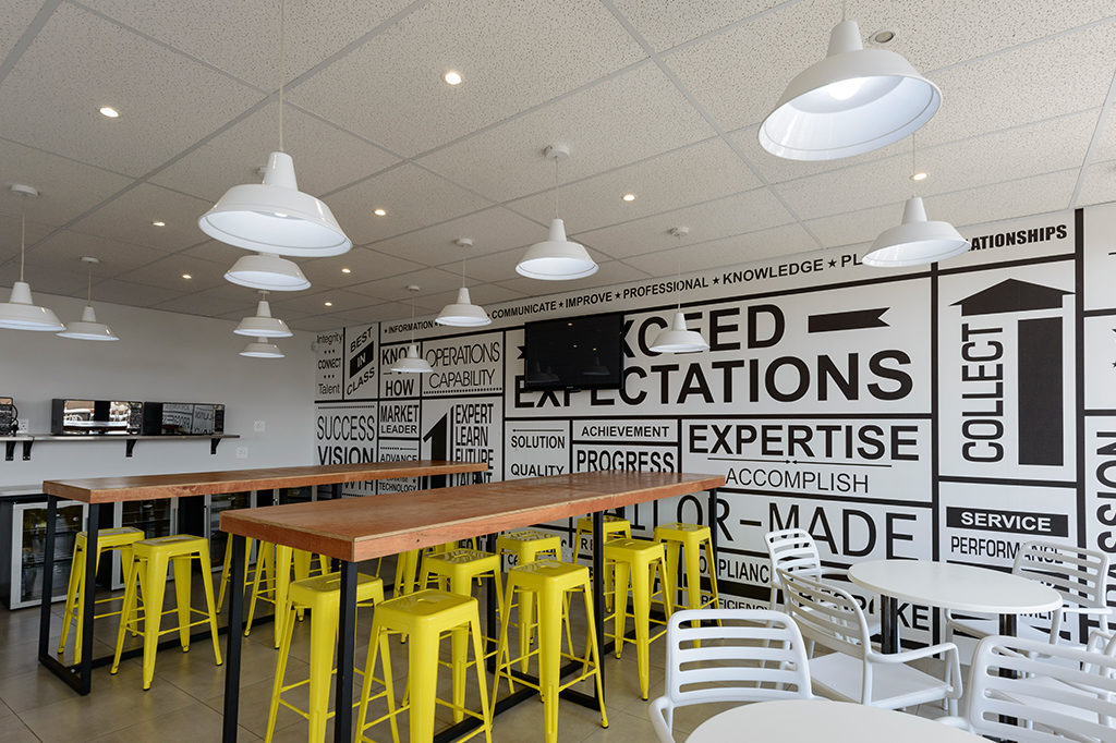 Credit Solutions Services - Turnkey Interiors - Corporate Interior Design and Build