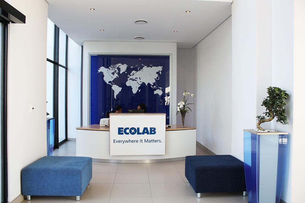 Ecolab - Turnkey Interiors - Corporate Interior Design and Build