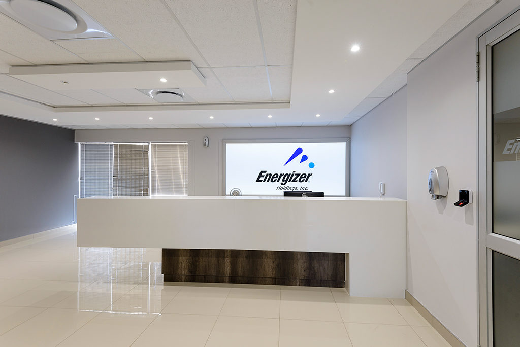 Energizer - Turnkey Interiors - Corporate Interior Design and Build