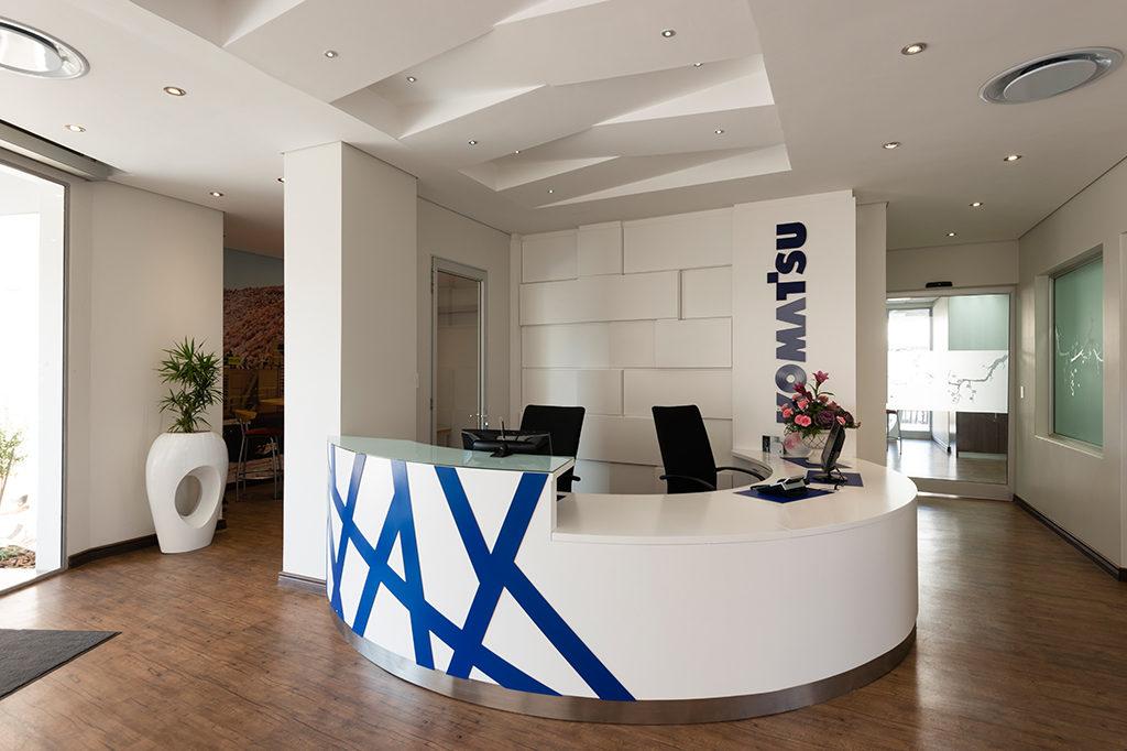 Komatsu Isando - Turnkey Interiors - Corporate Interior Design and Build